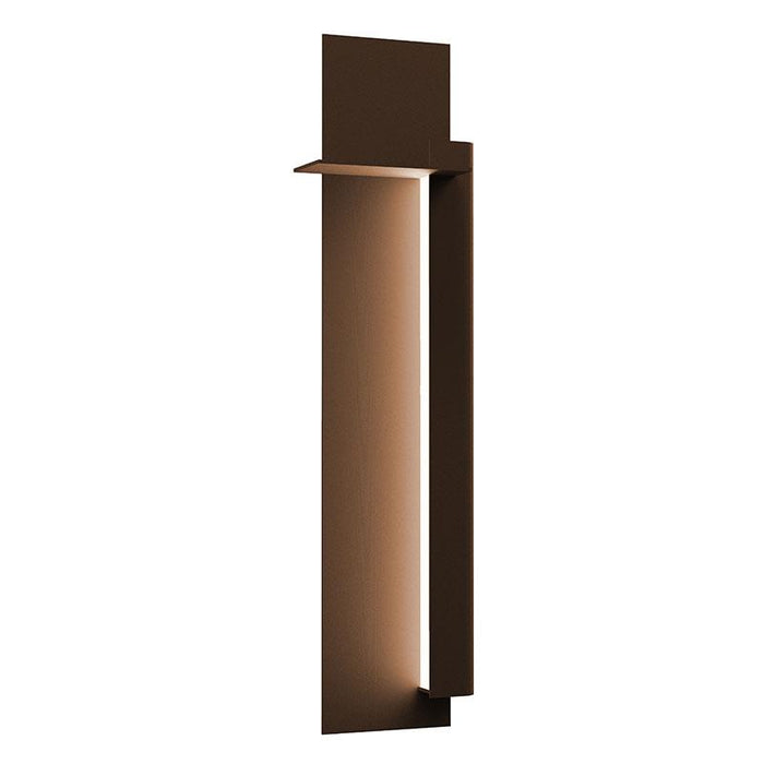 "Backgate 30"" LED Outdoor Wall Light - Textured Bronze Finish / Right Side"