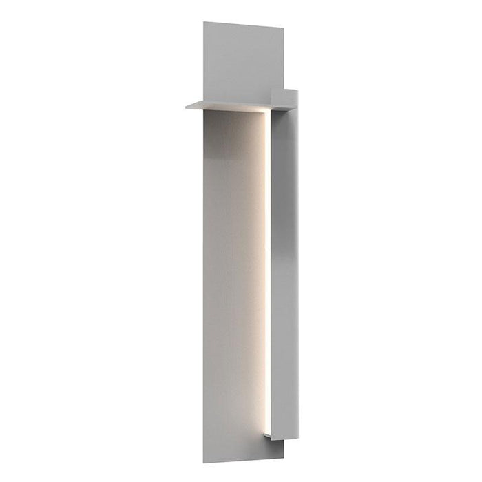 "Backgate 30"" LED Outdoor Wall Light - Textured Gray Finish / Right Side"