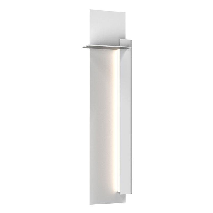 "Backgate 30"" LED Outdoor Wall Light - Textured White Finish / Right Side"