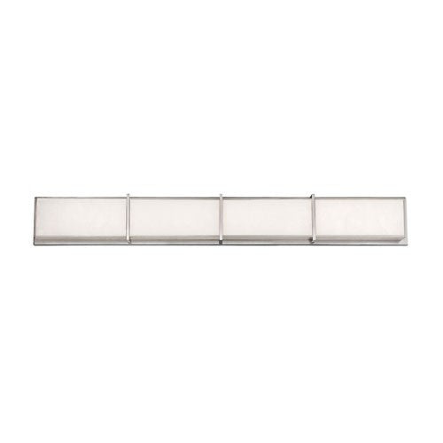 Bahn Large LED Bath Bar - Brushed Nickel Finish