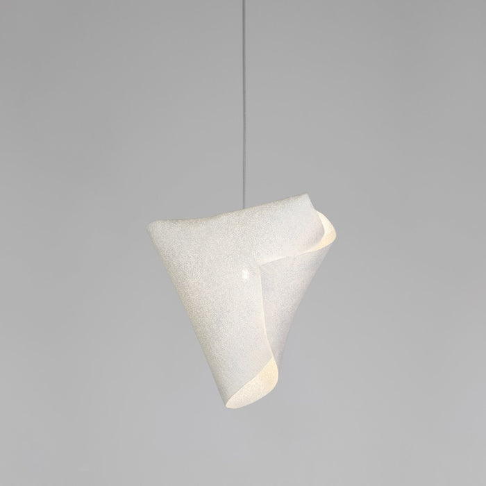 Ballet Releve Pendant - White Finish