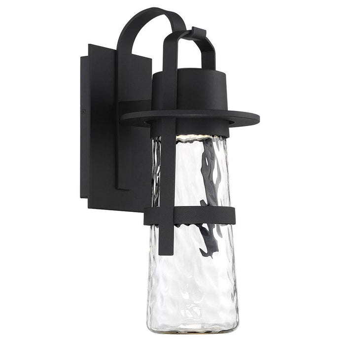 Balthus Large LED Outdoor Wall Light - Black Finish
