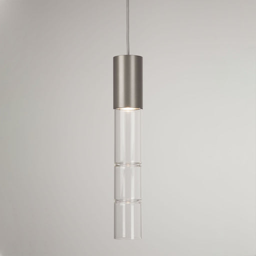 Bamboo Pendant Light - Metallic Bronze