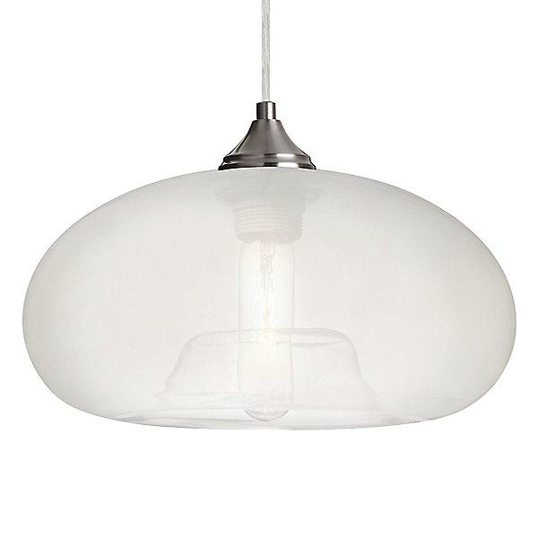 Bana Mini Pendant Light Frost/Satin Nickel