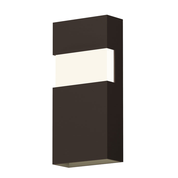 "Band 13"" LED Indoor/Outdoor Wall Sconce - Textured Bronze"