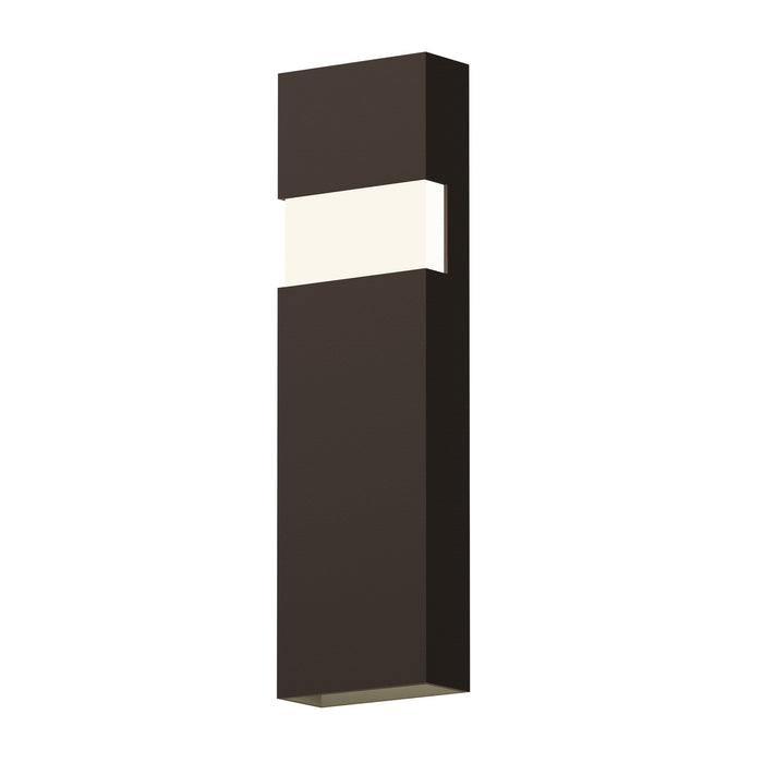 "Band 21"" LED Indoor/Outdoor Wall Sconce - Textured Bronze"