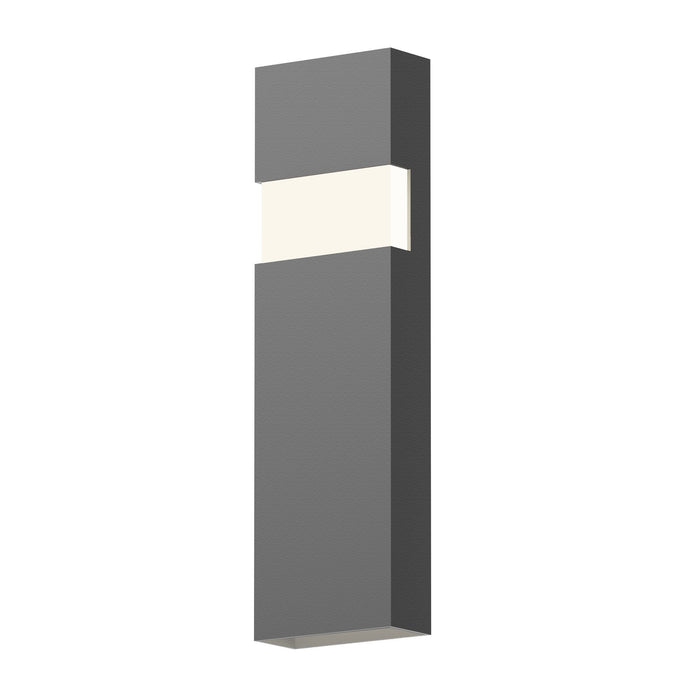 "Band 21"" LED Indoor/Outdoor Wall Sconce - Textured Gray"