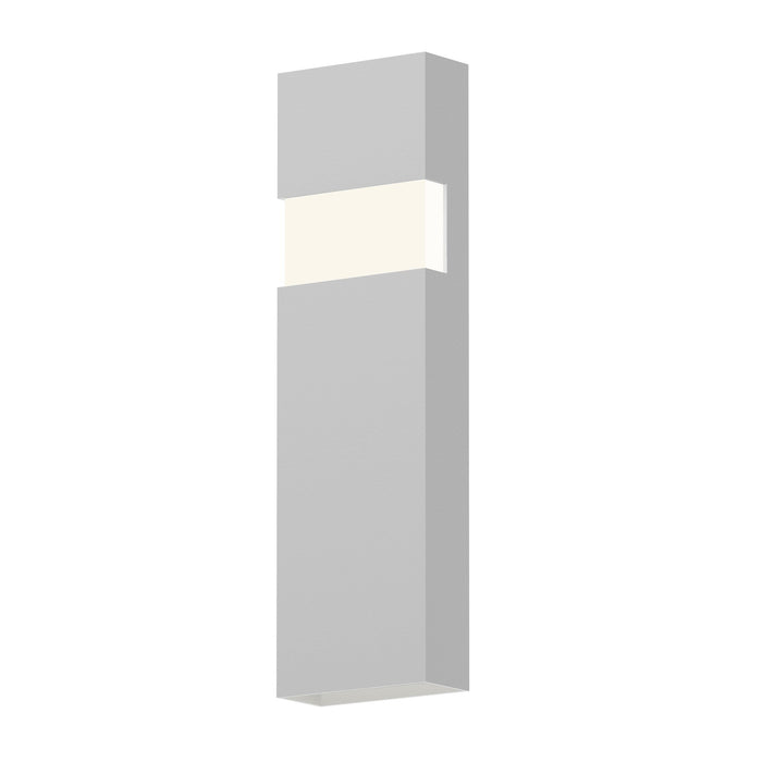 "Band 21"" LED Indoor/Outdoor Wall Sconce - Textured White"