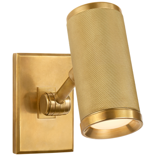 Barrett Mini Bed Light - Natural Brass Finish