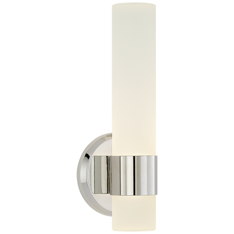Barton Single Arm Sconce Polished Nickel