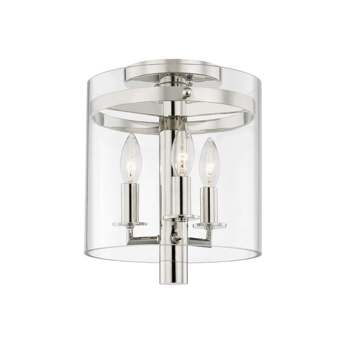 Baxter Flush Mount - Polished Nickel