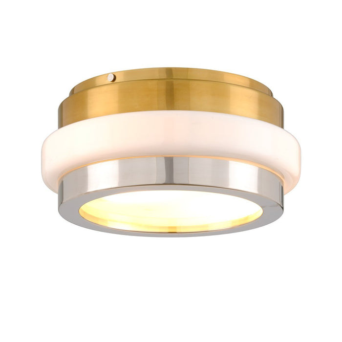 Beckenham Flush Mount - Vintage Polished Brass/Nickel