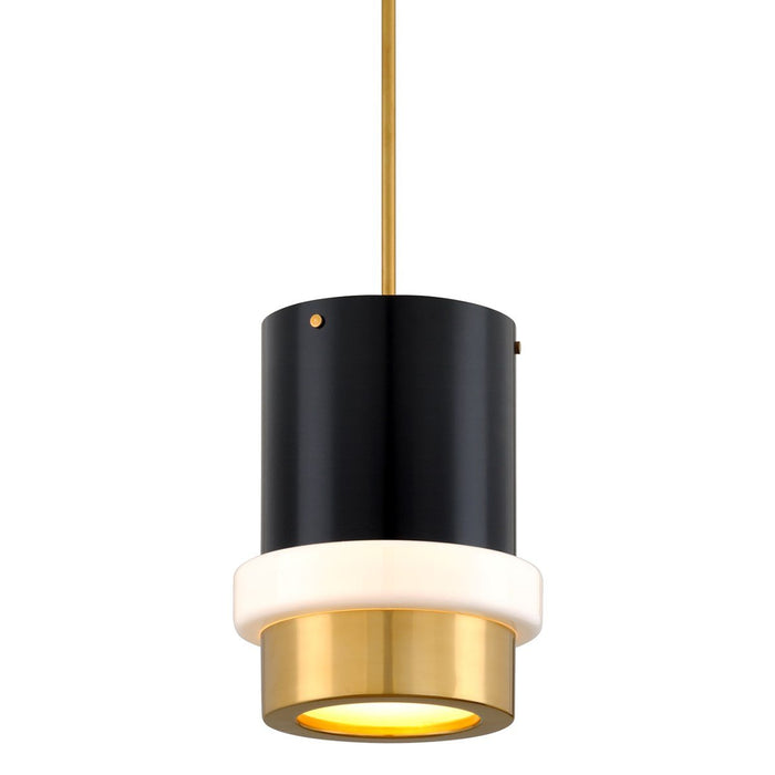Beckenham Large Pendant - Vintage Polished Brass
