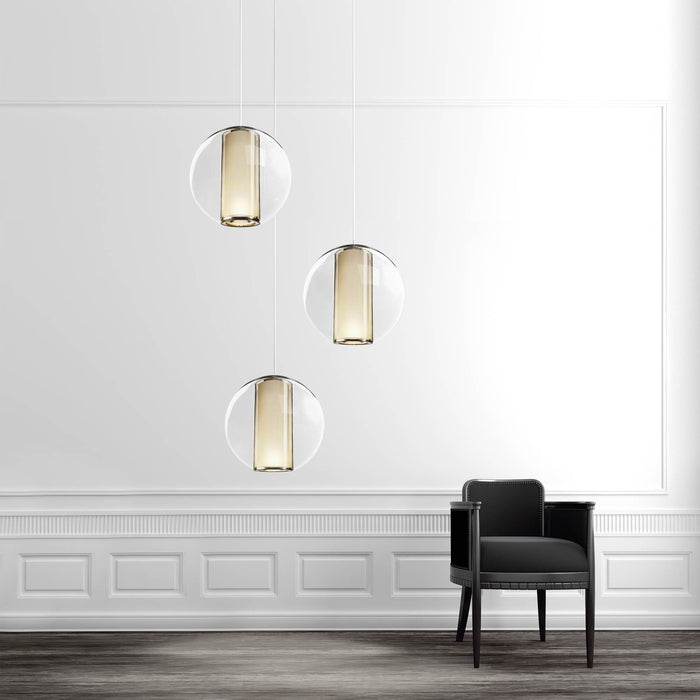 Bel Occhio Multi Light Chandelier - Display