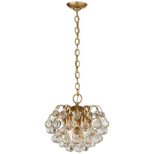 Bellvale Small Chandelier - Hand-Rubbed Antique Brass Finish