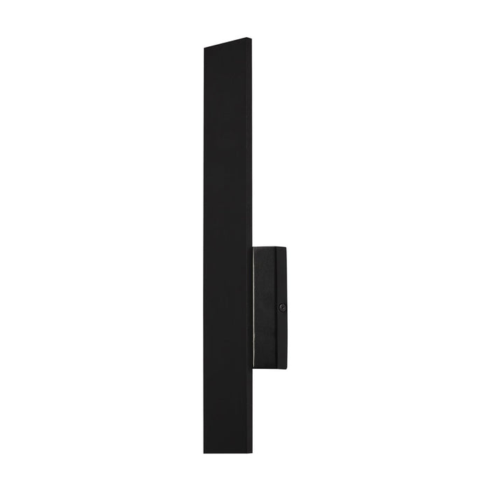 "Blade 18"" LED Outdoor Wall Sconce - Black Finish"