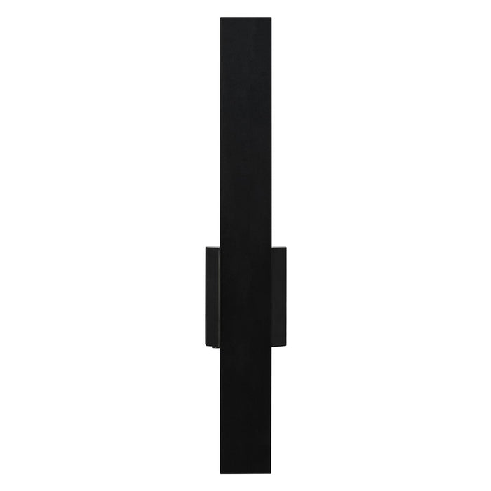 "Blade 24"" LED Outdoor Wall Sconce - Black Finish"