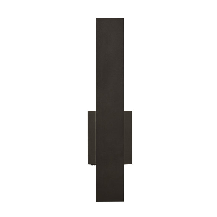 "Blade 18"" LED Outdoor Wall Sconce - Bronze Finish"