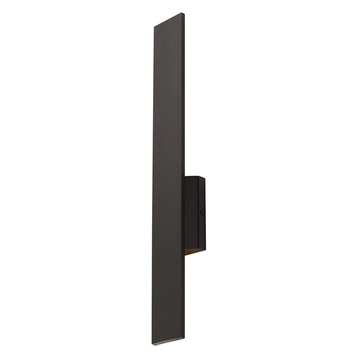 "Blade 24"" LED Outdoor Wall Sconce - Bronze Finish"