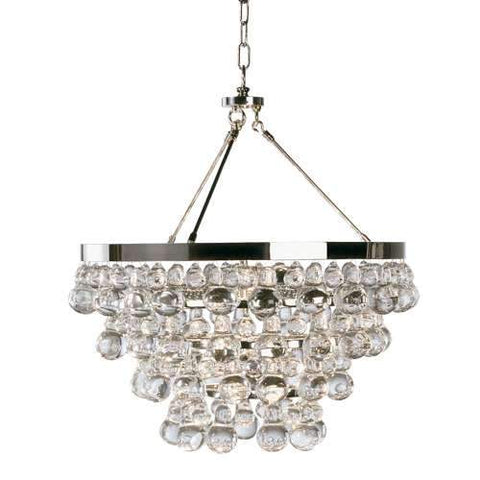 Bling Chandelier Small Polished Nickel