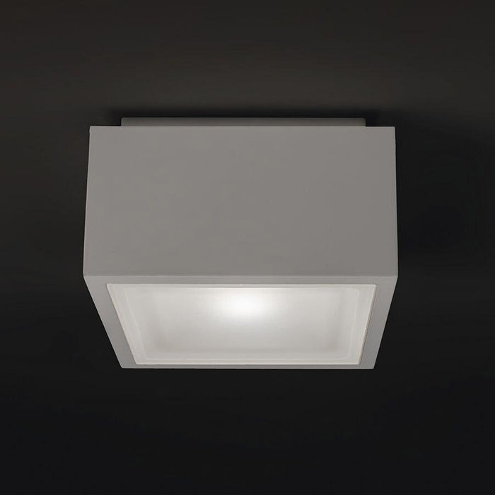 Bloc LED Indoor/Outdoor Flush Mount - Display