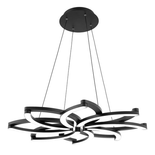 Bloom Chandelier - Black Finish