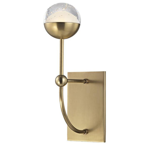 Boca Wall Sconce Aged Brass