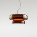 Bohemia LED Pendant - Amber Finish