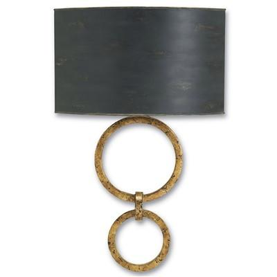 Bolebrook Wall Sconce - Gold Leaf/Black