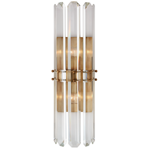 Bonnington Tall Sconce - Hand-Rubbed Antique Brass