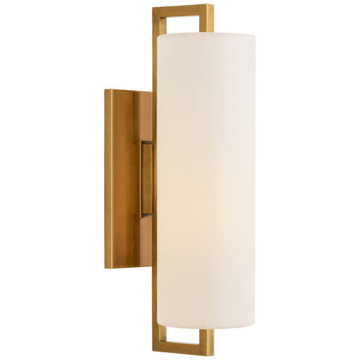 Bowen Medium Sconce - Hand-Rubbed Antique Brass Finish
