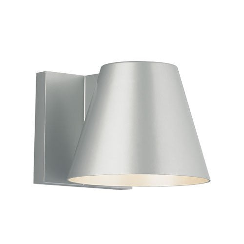 Bowman 6 Wall Light - Silver Finish