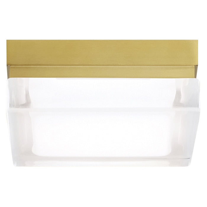 Boxie LED Ceiling Light - Brass - Small