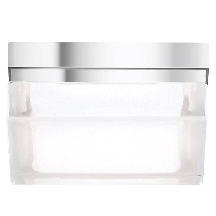 Boxie LED Ceiling Light - Chrome - Small