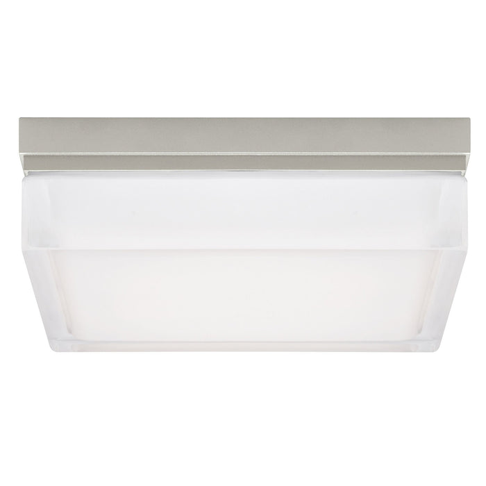 Boxie LED Ceiling Light - Satin Nickel - Large