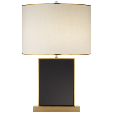 Bradford Large Table Lamp Black/Soft Brass