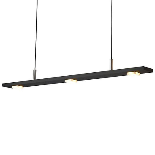 Brevis  LED Linear Pendant - Black Anodized Finish