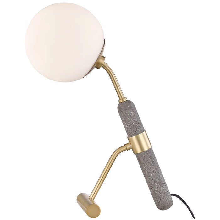 Brielle Table Lamp - Aged Brass Finish