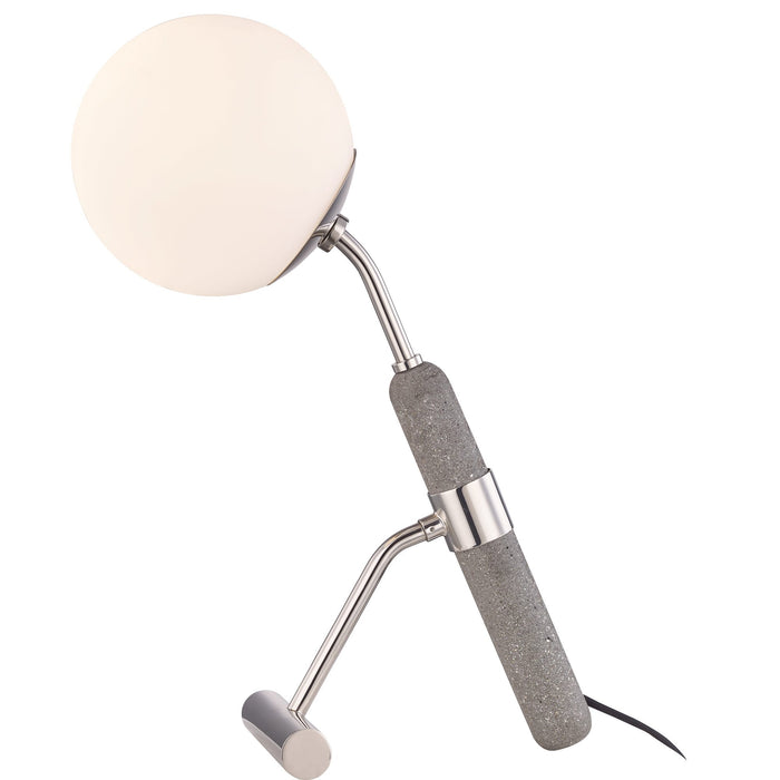 Brielle Table Lamp - Polished Nickel Finish