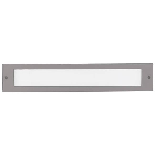 Bristol Large LED Outdoor Step Light - Gray Finish