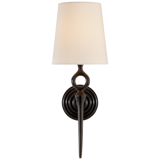 Bristol Single Sconce - Aged Iron Finish
