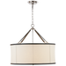 Broomfield Large Hanging Shade - Polished Nickel Finish