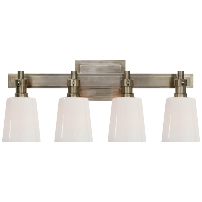 Bryant 4-Light Bath Vanity Sconce - Antique Nickel Finish