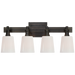 Bryant 4-Light Bath Vanity Sconce - Bronze Finish