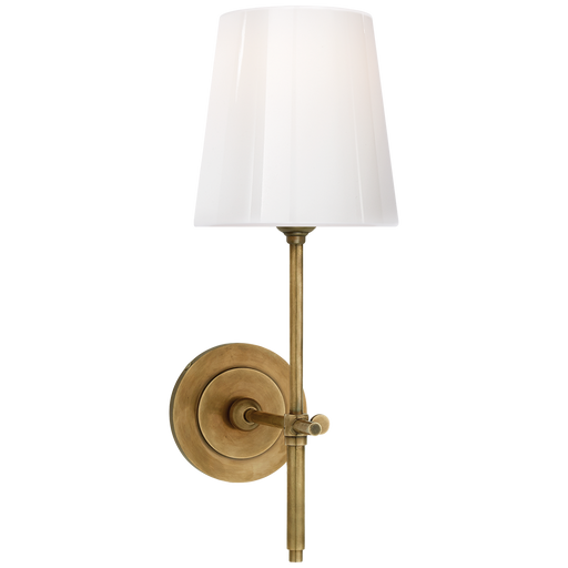 Bryant Sconce - Hand-Rubbed Antique Brass Finish