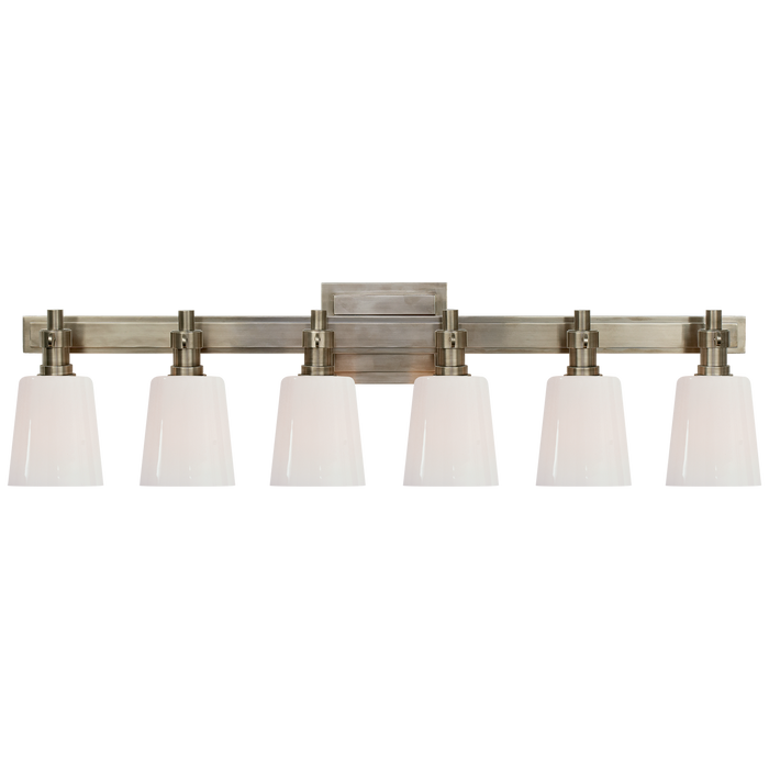 Bryant 6-Light Bath Vanity Sconce - Antique Nickel Finish