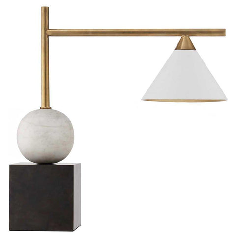 CLEO LARGE DESK LAMP white