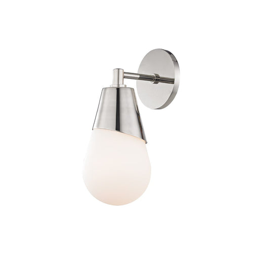 "CORA 11.8"" WALL LIGHT Polished Nickel"