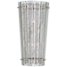 Cadence Medium Sconce - Polished Nickel Finish with Antique Mirror Shade