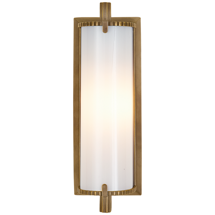 Calliope Short Bath Light - Hand-Rubbed Antique Brass